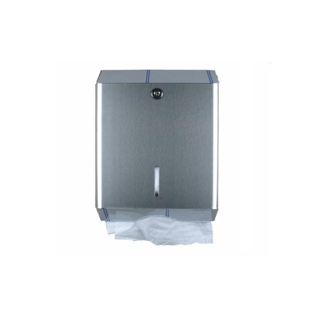 Dispensador de toalletas acero