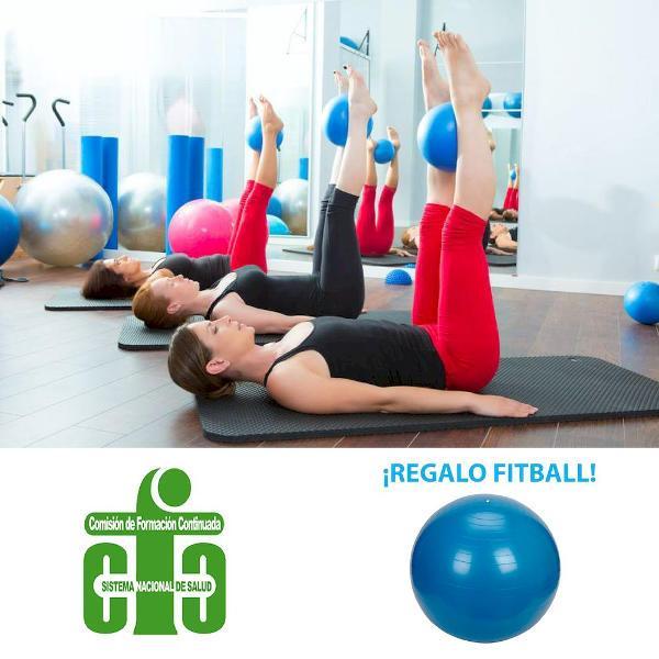Curso de pilates suelo, accesorios y su aplicación terapéutica en fisioterapia. Edición 1. Madrid Abril 2020