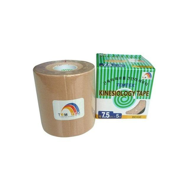 Kinesiology tape - 7,5cm x 5m Beige 4uds