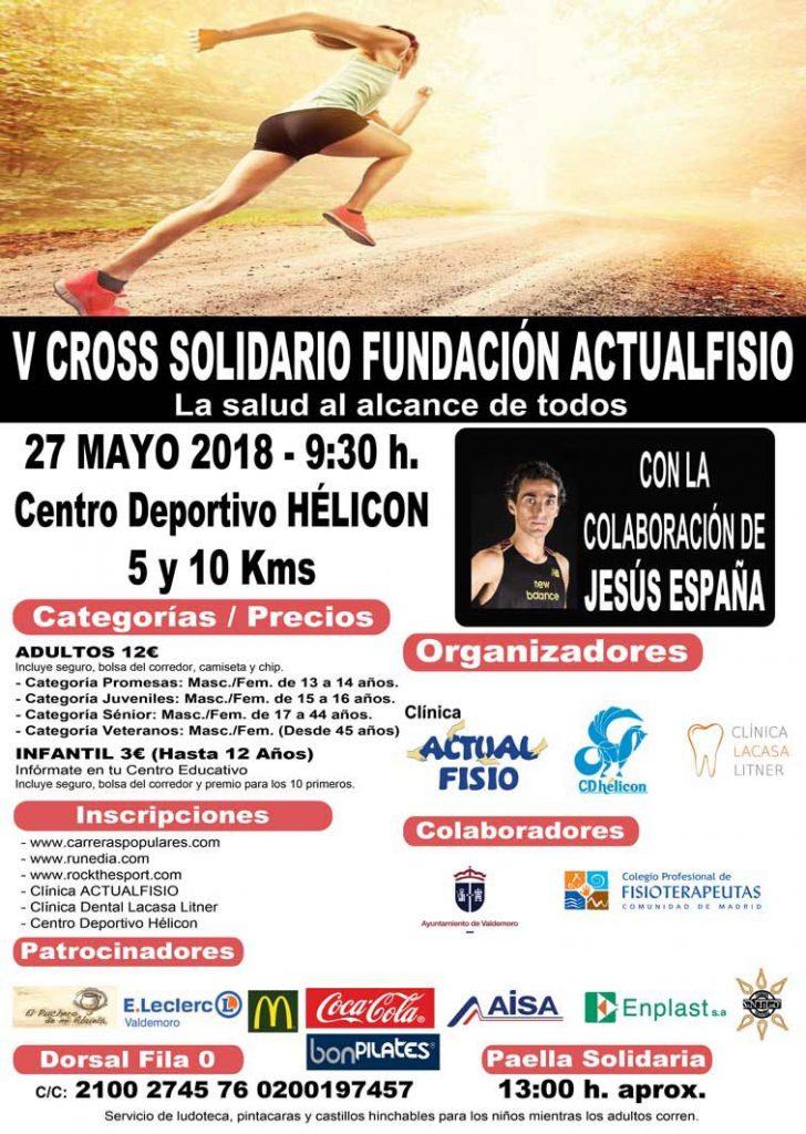IV Carrera Solidaria Fundación Actualfisio valdemoro