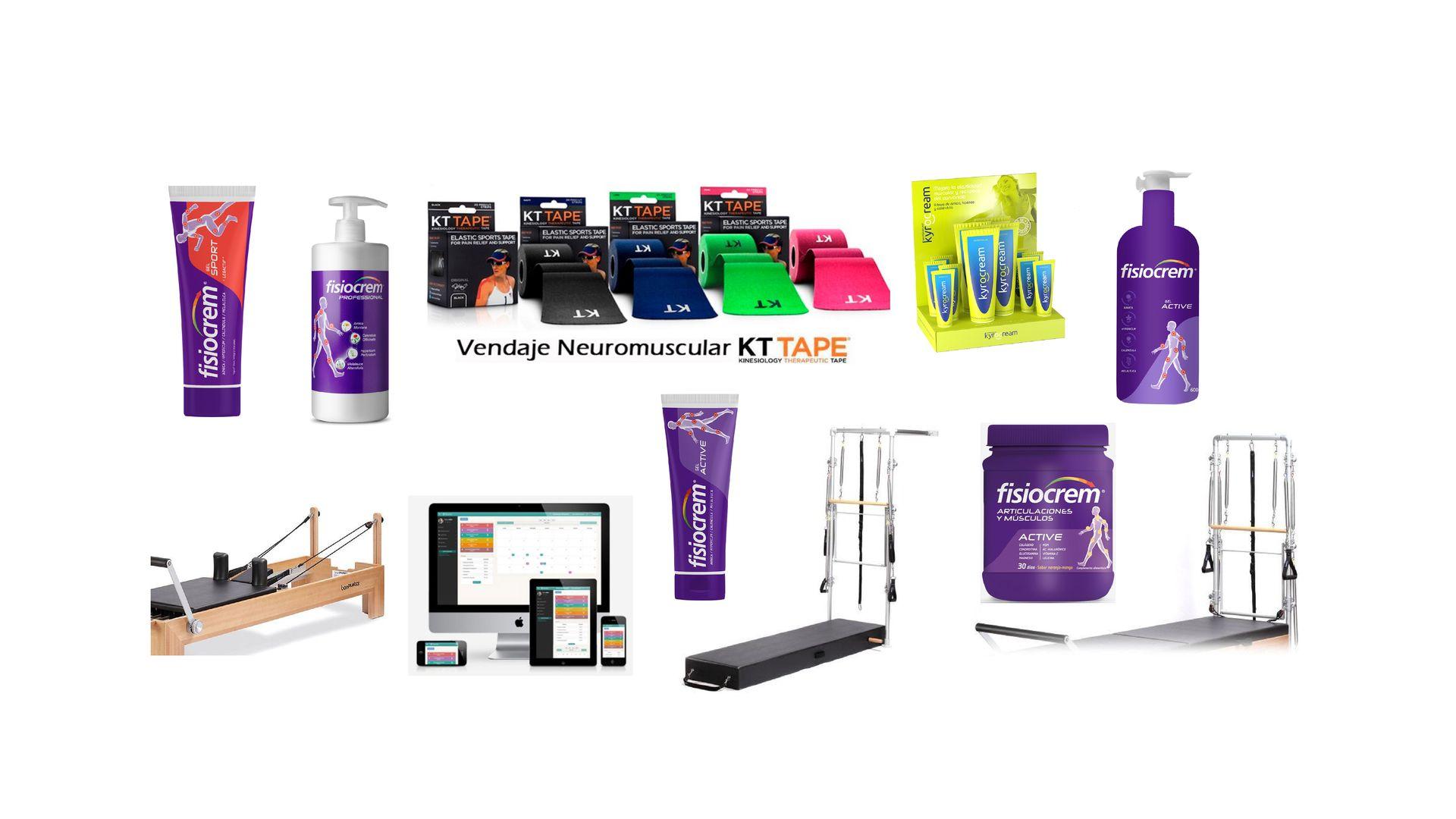 tienda online de productos para fisioterapeutas